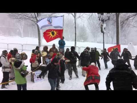 Idle no More Québec 20121221