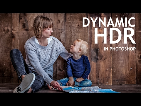 Photoshop Tutorial : Creating Dynamic HDR Photos With Camera Raw Filter