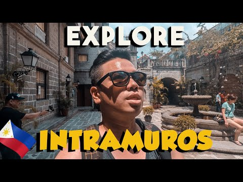 A Tour Around Intramuros - Manila (Philippines Travel)