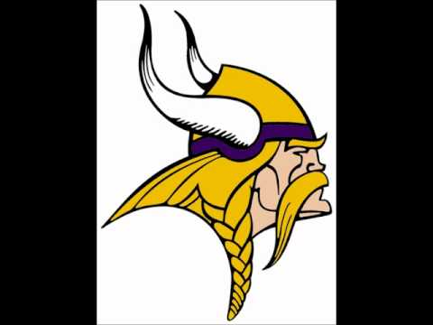 Skol Vikings and horn