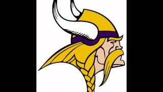 Skol Vikings and horn