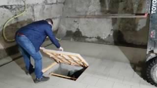 видео Люк напольный