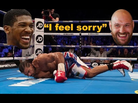 Tyson Fury & Anthony Joshua React to TONY BELLEW VS DAVID HAYE