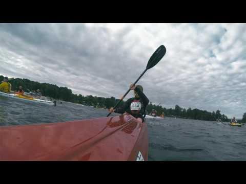 Facing Waves, Dalsland Kanot Marathon