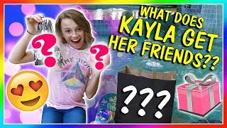 WHAT DOES KAYLA LIKE TO GET HER FRIENDS?| We Are The Davises