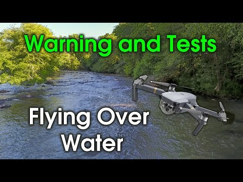 Flying Drone Over Water - Results Mavic and Phantom