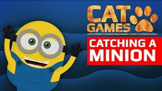 CAT GAMES - CATCHING A BANANA LOVER (VIDEO FOR CATS TO WATCH) 2 HOURS