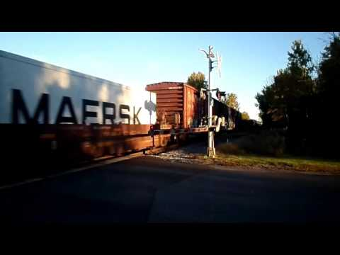 Upstate New York Morning Freight Operations