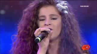 Şehriban Duman'dan Final Performansı Sesi Çok Güzel 22 Nisan 2015