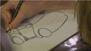 How to Draw Cars, Trucks and Bikes : How to Draw a Nissan 350Z