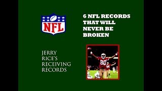 6 nfl records that will never be broken