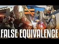 False Equivalence (Black Ops 3 vs Infinite Warfare vs MWR Gameplay Commentary)