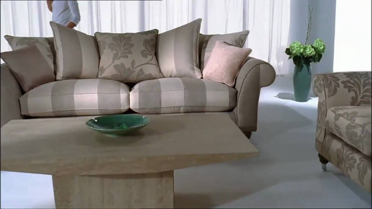 Wellington sofa youtube for Furniture village sofa