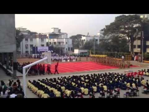 Republic day 2014. New India school, Pune