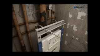 Инсталляция для унитаза GEBERIT DUOFIX Plattenbau 458.162.21.1(http://www.220-volt.ru/catalog-81243/?ref=yb Технические данные: Объем воды для смыва, заводская установка 6 и 3 л. Большой объем..., 2015-03-25T11:38:22.000Z)