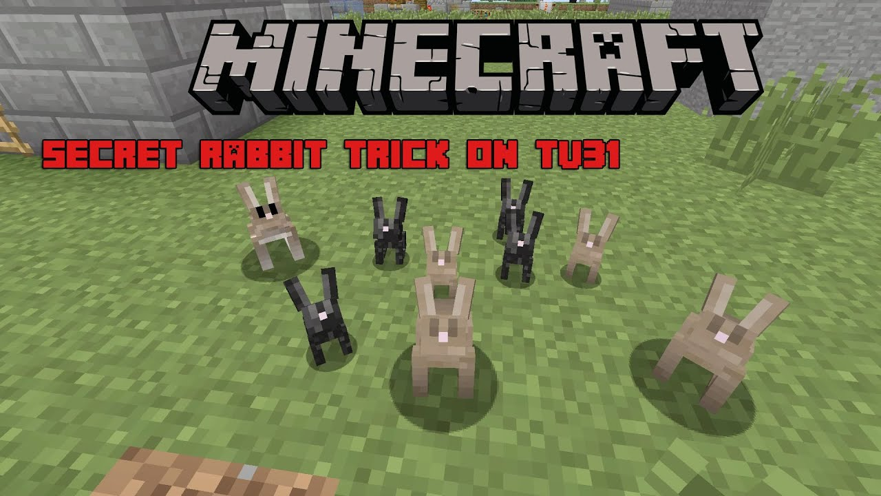 minecraft xbox one how to find rabbits