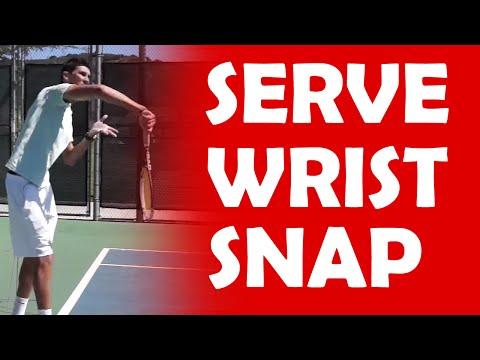 Wrist Snap | SERVE MECHANICS