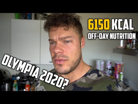 ALL Off-Day Meals: Eat to GROW | Olympia 2020 Talk: What If?