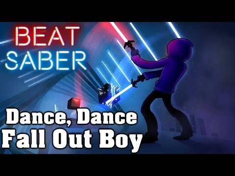 Beat Saber - Dance, Dance - Fall Out Boy (custom Song) | FC