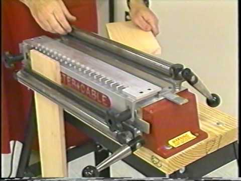 Porter Cable Omnijig 5116 Dovetail Machine Instructional Video part 1 of 4