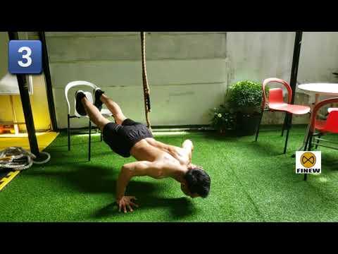 Home Workout | Các bài tập thân trên tại nhà cho mùa dịch COVID – 19. | FINEW CLASS #danangkhoe