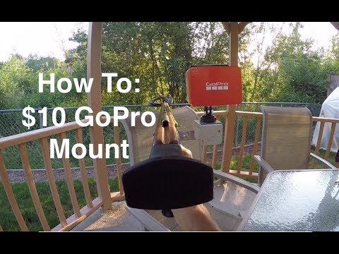 DIY $10  GoPro Mount for Wooden Spearguns JBL