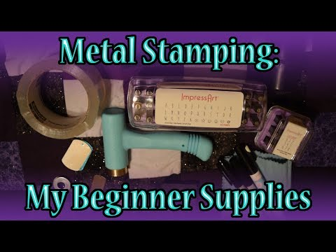 Metal Stamping: My Beginner Supplies -$37,553.42