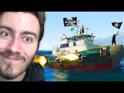 KORSAN GEMİ SAVAŞLARI (GTA 5 Online Komik Anlar)