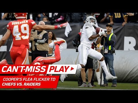 Derek Carr Hits Amari Cooper Deep for Flea Flicker TD! | 🚨 Trick Play Alert 🚨 | NFL Wk 7 Highlights