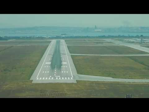 An124-100 landing Tunis