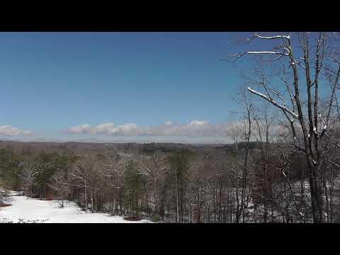 North Georgia Mountains snow views!