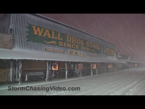 10/4/2013 Wall, SD Major Blizzard B-Roll