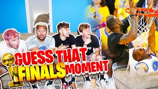 Guess That Famous NBA FINALS Moment w/ 2HYPE !!