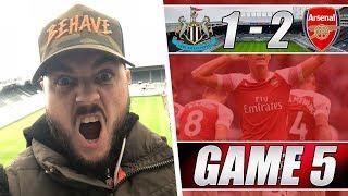 Newcastle 1 v 2 Arsenal - What A Brilliant Goal By Xhaka - Matchday Vlog