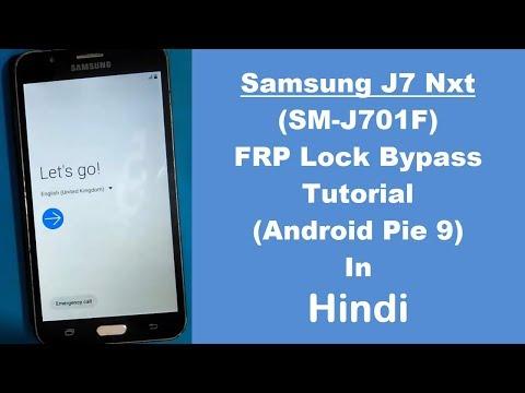 Samsung Galaxy J7 Nxt (SM-J701F) FRP (Google Account) Lock