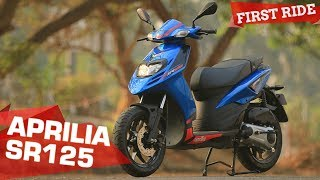 2018 Aprilia SR125 - 5 Things you need to know | First Ride Review