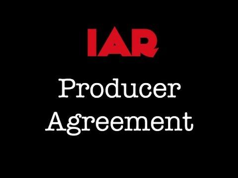 Indie Artist Resource - Producer Agreement