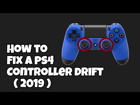 PS4 controller  Analog Drift fix !! 100 % legit great results !!!