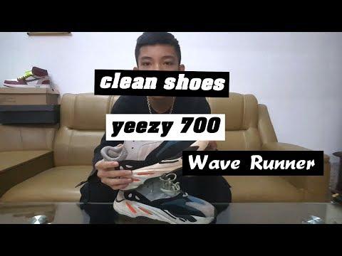 Clean Giày với nước giặt thông thường ?? / Clean Yeezy 700 Wave Runner with Regular washing water