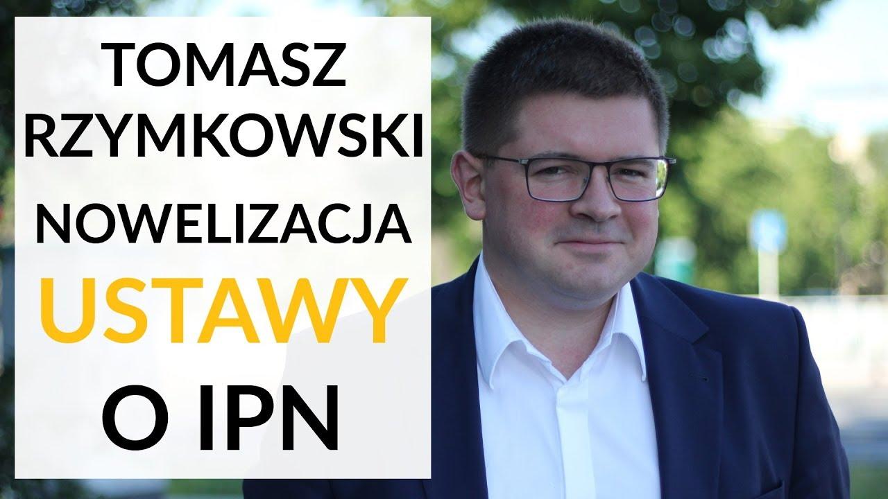 Rzymkowski: TK powinien wydać pozytywną opinię ws. nowelizacji ustawy o IPN