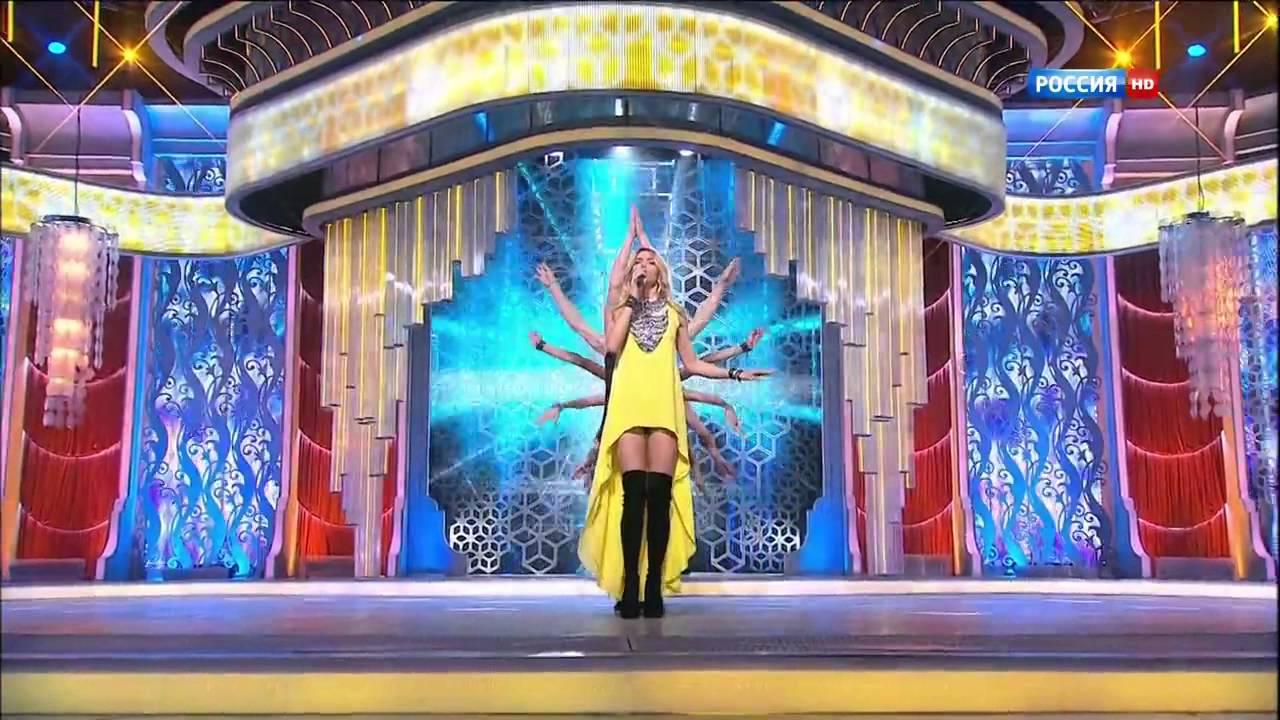 Вера брежнева желтое платье