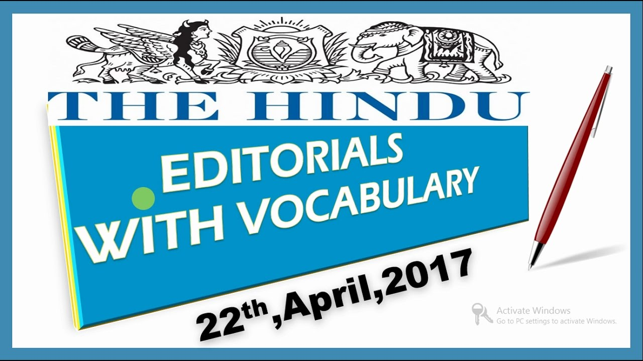 22 April, 2017 The Hindu Editorial Discussion,WITH Vocabulary LokPal,  Panama Paper Leak