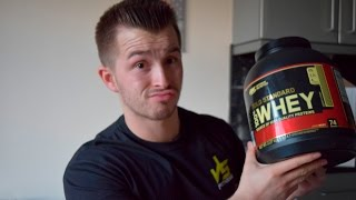 Optimum Nutrition Gold Standard Whey Review Cookies and Cream Flavor   JS Fitness