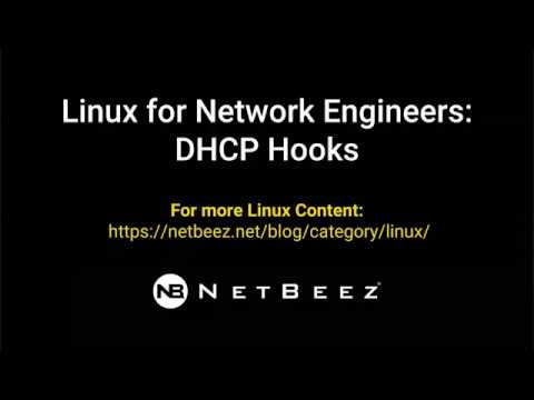 Linux for Wireless Engineers: How to Use DHCP Hooks