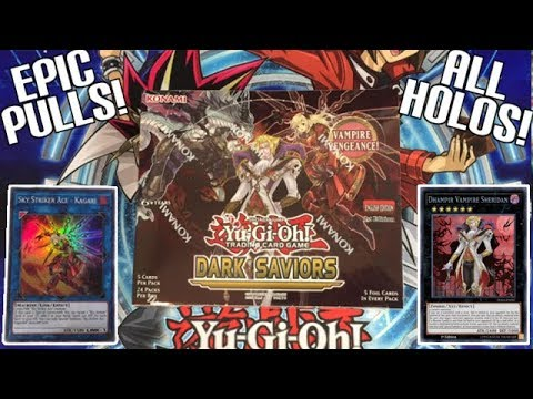 EPIC PULLS! NEW! Yugioh Dark Saviors 1st Edition Unboxing | Sky Strikers The New Meta Deck!