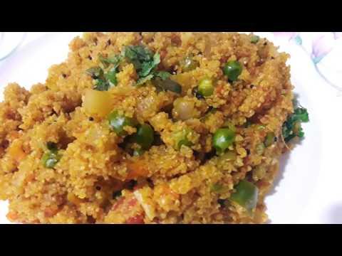 सुबह के लिए झटपट बनाये हेल्थी और लाजवाब नाश्ता - Daliya Khichdi - Tasty Breakfast  Recipe