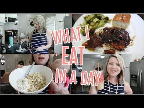 WHAT I EAT IN A DAY ON WW FREESTYLE | FULL DAY OF EATING thumbnail