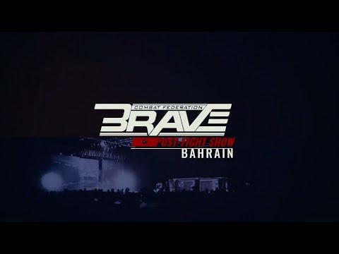 BRAVE CF 48: Arabian Night Post Fight Show