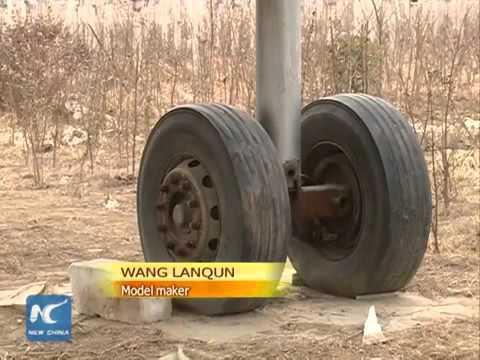 Nông dân tự chế máy bay Boeing 737