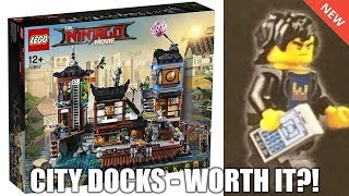 Is the New LEGO NINJAGO City Docks set worth it?! *Exclusive Minifigures* (70657)